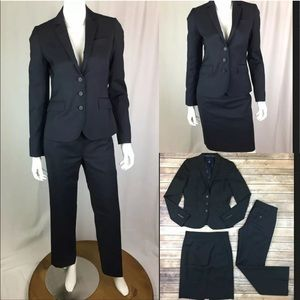 J. Crew Wool Blazer Jacket Skirt & Pants Suit